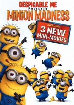 Animated movie Despicable Me Presents: Minion Madness poster