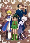 Animated movie Hunter x Hunter poster