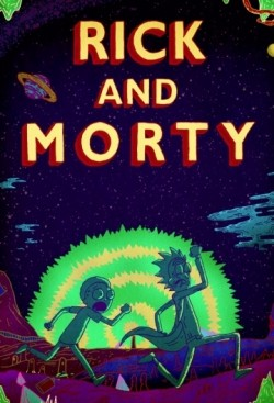 Animated movie Rick and Morty poster