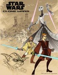 Animated movie Star Wars: Clone Wars poster