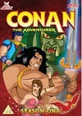 Animated movie Conan: The Adventurer poster