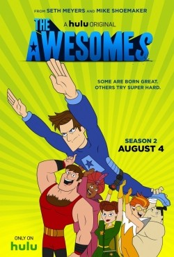 Animated movie The Awesomes poster