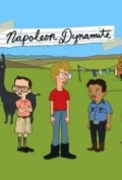 Animated movie Napoleon Dynamite poster