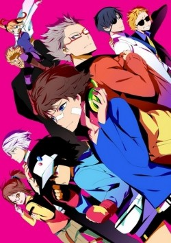 Animated movie Hamatora the Animation poster