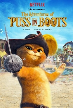 Animated movie The Adventures of Puss in Boots poster
