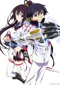 Animated movie Infinite Stratos poster