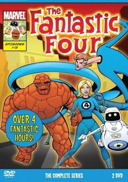 Animated movie The Fantastic Four poster