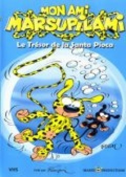 Animated movie Mon ami Marsupilami poster