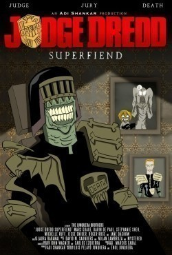 Animated movie Judge Dredd: Superfiend poster