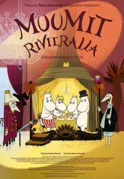 Animated movie Muumit Rivieralla poster