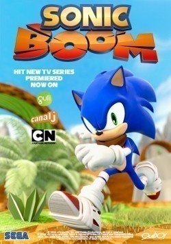 Animated movie Sonic Boom poster