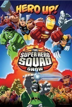 Animated movie The Super Hero Squad Show poster