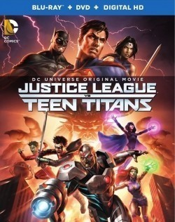 Animated movie Justice League vs. Teen Titans poster