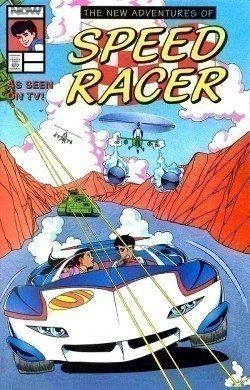 Animated movie Speed Racer poster