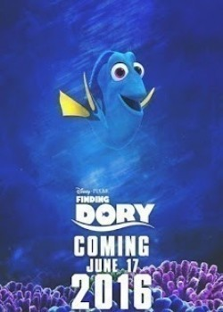 Animated movie Finding Dory poster