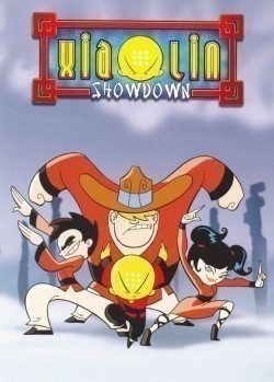 Animated movie Xiaolin Showdown poster