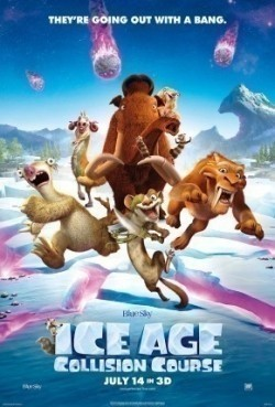 Animated movie Ice Age: Collision Course poster
