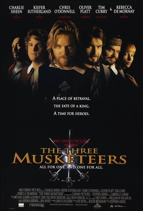 The Three Musketeers is similar to Blue's Big Treasure Hunt.