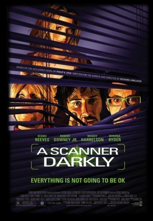 A Scanner Darkly is similar to Hunter x Hunter.