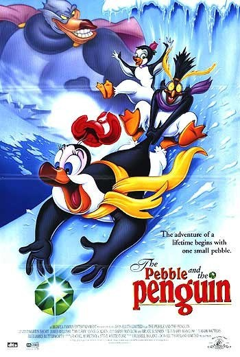 The Pebble and the Penguin is similar to Davey & Goliath's Snowboard Christmas.