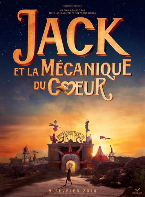 Jack et la mécanique du coeur is similar to Yoake mae yori ruri iro na: Crescent love.