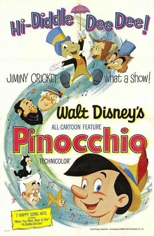 Pinocchio is similar to Hellboy Animated: Sword of Storms.