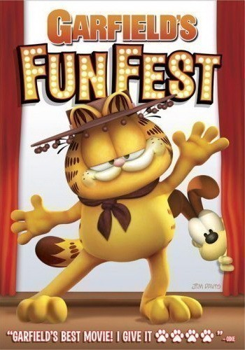 Garfield's Fun Fest is similar to Ice Age: Dawn of the Dinosaurs.