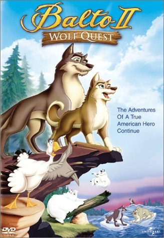 Animated movie Balto 2. Travel of the wolf poster