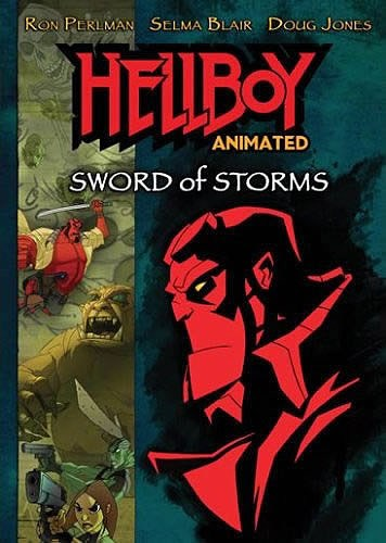 Hellboy Animated: Sword of Storms is similar to A Very Barry Christmas.
