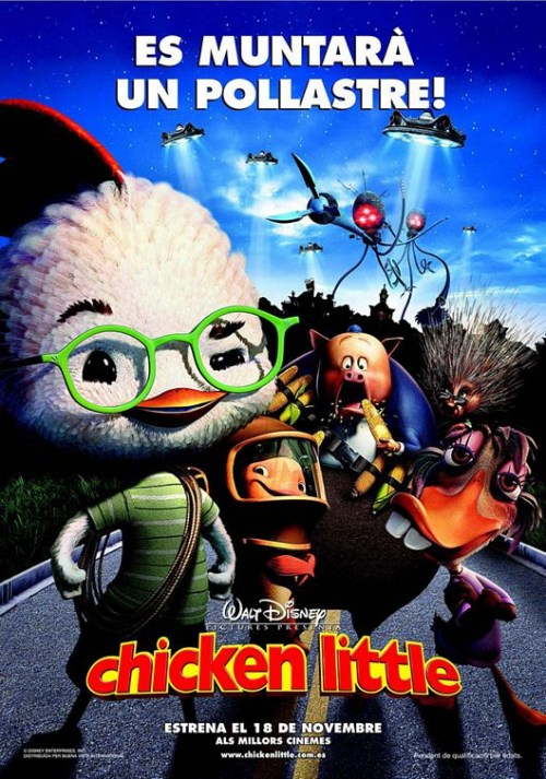Chicken Little is similar to The Very First Noel.