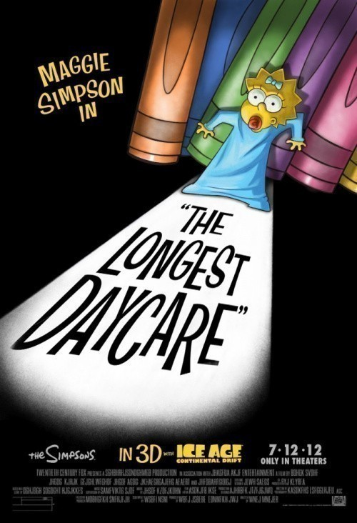 The Simpsons: The Longest Daycare is similar to Ice Age.