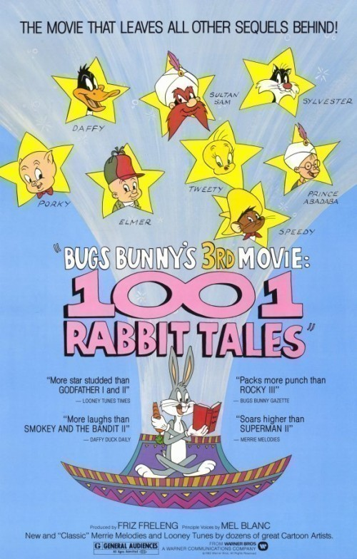 Bugs Bunny's 3rd Movie: 1001 Rabbit Tales is similar to How to Draw Flowers.