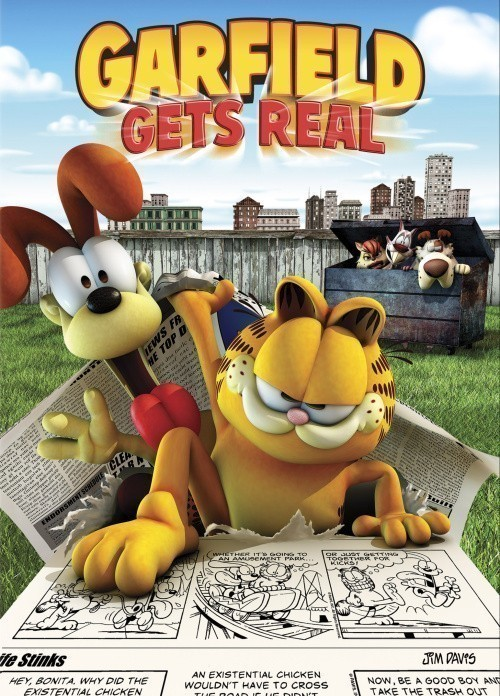 Garfield Gets Real is similar to The Real Adventures of Jonny Quest.