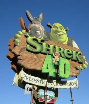 Shrek 4-D is similar to As Told by Ginger.