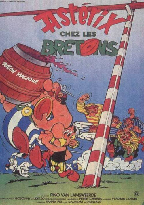Asterix chez les Bretons is similar to Star Wars: Clone Wars.